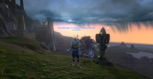 Moonshade Highlands at dawn
